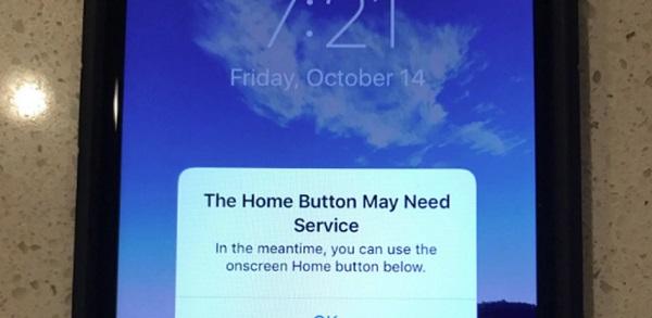 Lỗi iPhone bị vô hiệu hóa do hỏng phần cứng