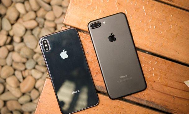 So sánh camera iphone 7 plus và iphone x