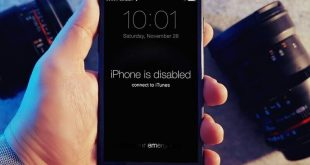Lỗi iPhone is disabled connect to iTuneslà sao
