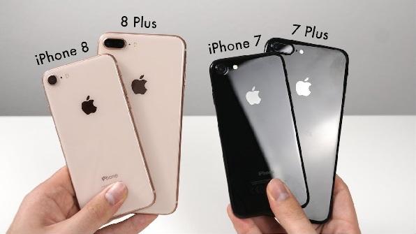 so sánh iPhone 7 Plus và iPhone 8 (1)