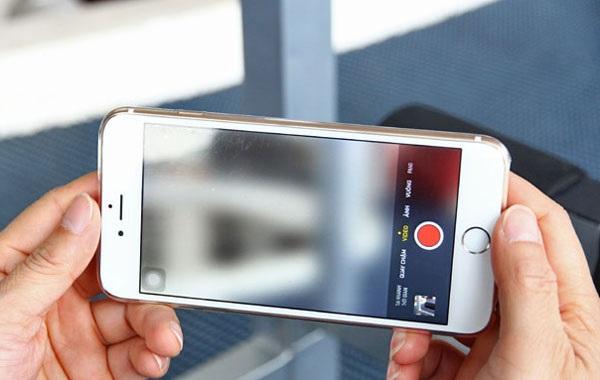 Lỗi camera iPhone 6 không chụp ảnh lấy nét được