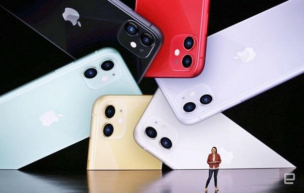 iPhone 11 có nhiều màu sắc hơn