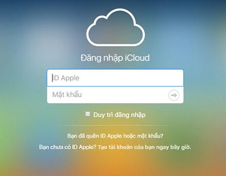Bảo mật data khi mất máy iPhone qua icloud