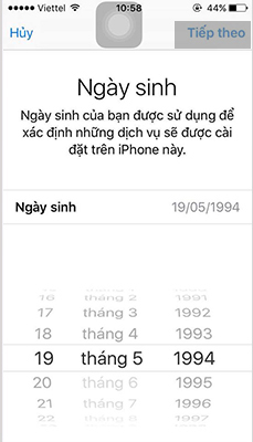 Hướng dẫn cách tạo Apple ID (1)