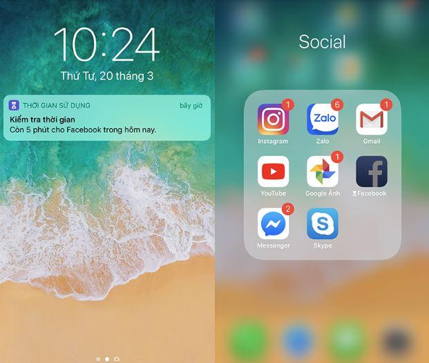 Có thể khóa đồng thời nhiều hay một nhóm ứng dụng trên iPhone
