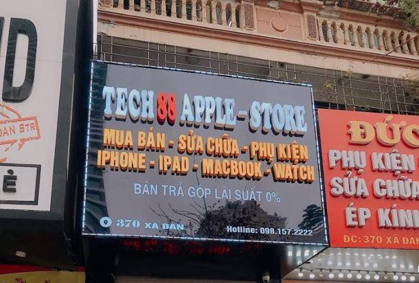 Tech 88 Apple Store là địa chỉ mua iPhone uy tín tại Hà Nội