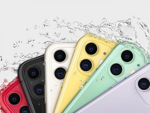Tiêu chuẩn chống nước trên iPhone 11