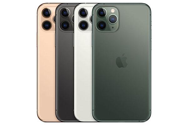 iPhone 11 Pro, 11 Pro Max có mấy màu?