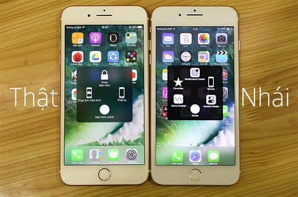 iPhone 7 Plus thật chất lượng màn hình hiển thị sẽ đẹp hơn rất nhiều