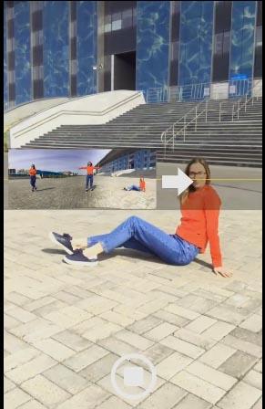 Nhân vật chính xuất hiệnnhiều lần trong ảnh chụp góc rộng Panorama