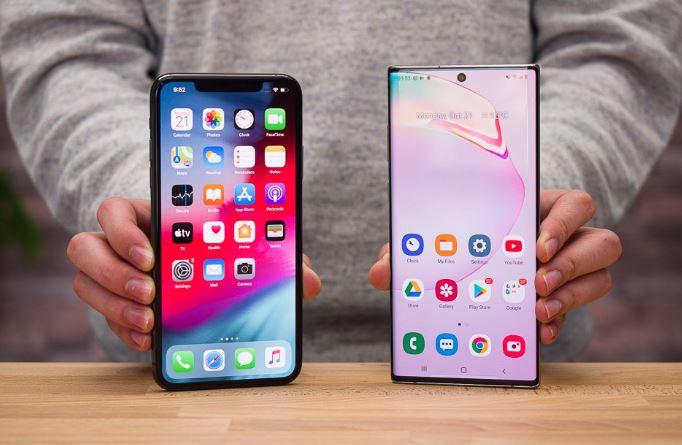 Samsung cung cấp tấm nền màn hình chất lượng cho cả Note 10+ và iPhone