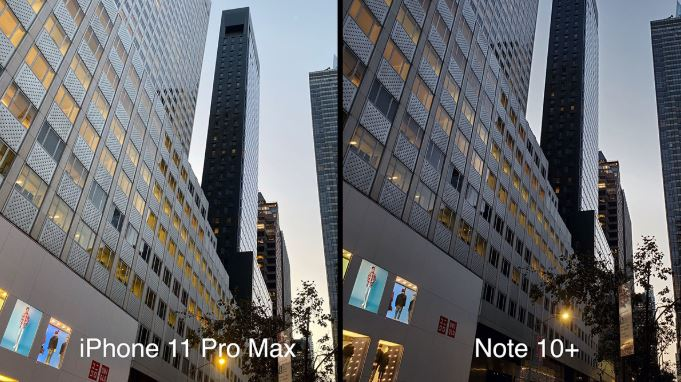 Hình ảnh chụp thực tế từ camera iPhone 11 Pro Max và Galaxy Note 10+