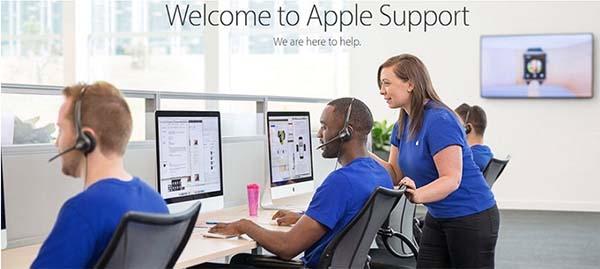 Mang thiết bị đến các trung tâm bảo hành chính hãng của Apple để được hỗ trợ