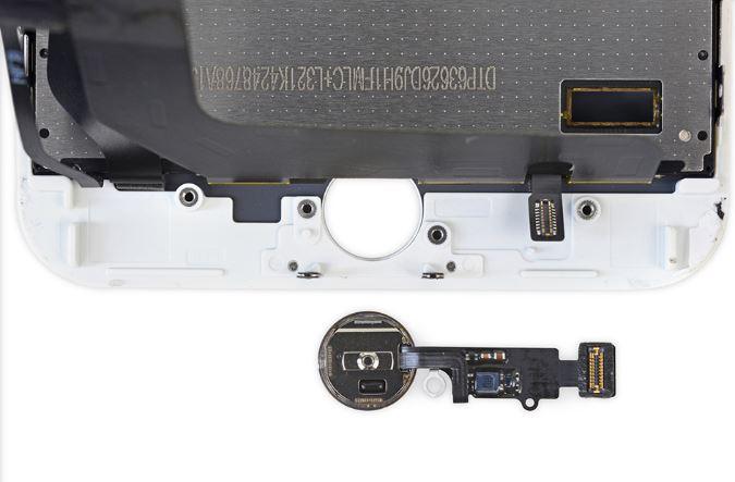 Những linh kiện và con chip cấu thành chi tiết nút Home iPhone vô cùng phức tạp