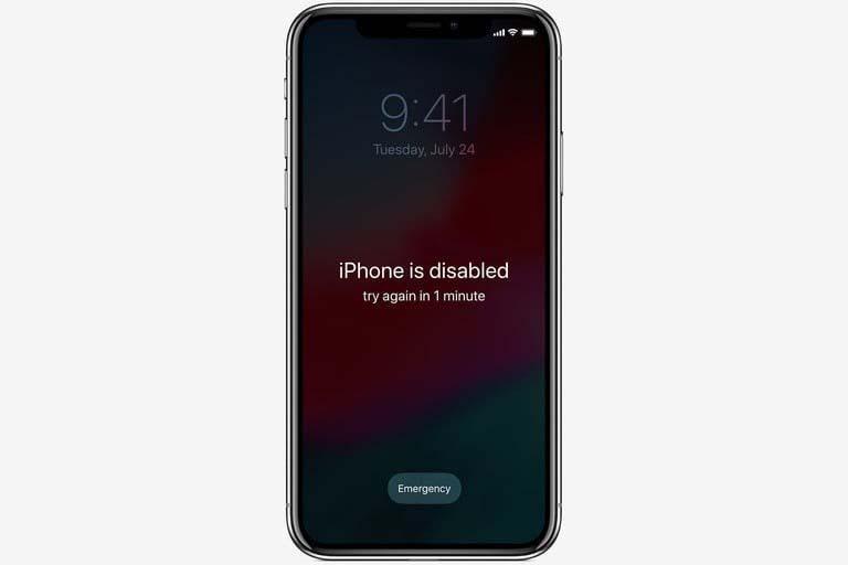 Sửa lỗi iPhone bị vô hiệu hoá hiệu quả