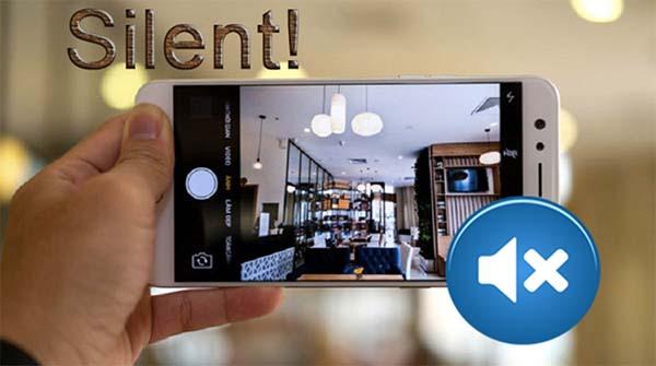 Sử dụng nút vật lý Silent-Ring để tắt tiếng camera iPhone
