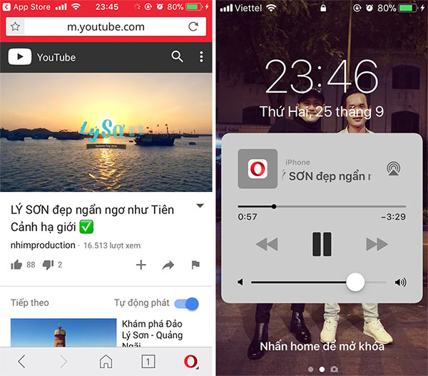 Cách xem Youtbe khi tắt màn hình trên iPhone (3)