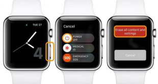 Tắt nguồn Apple Watch trực tiếp trên thiết bị