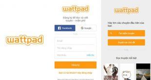 Các bước cài đặt mật khẩu trên Wattpad