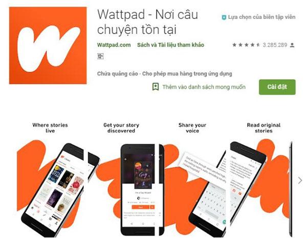 Xóa app và cài đặt lại Wattpad cho iPhone