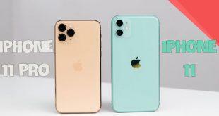 So sánh iPhone 11 và iPhone 11 Pro (1)