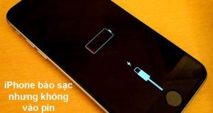Nguyên nhân lỗi iPhone sạc không vào điện