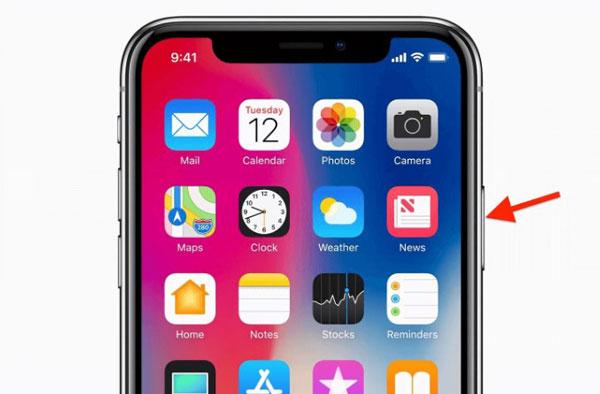 Khởi động lại iPhone để reset lại toàn bộ hệ thống