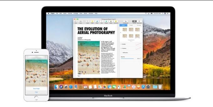 Máy tính MacOS sẽ tự động nhận diện thiết bị và mở cửa sổ xem ảnh trên iPhone