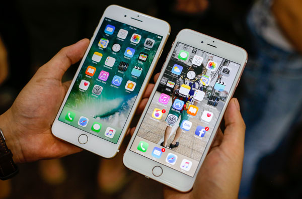 Apple nâng cấp iPhone 6s RAM lên 2GB