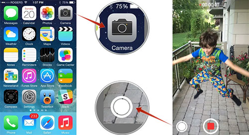 Vừa quay vidoe vừa chụp ảnh trên iPhone