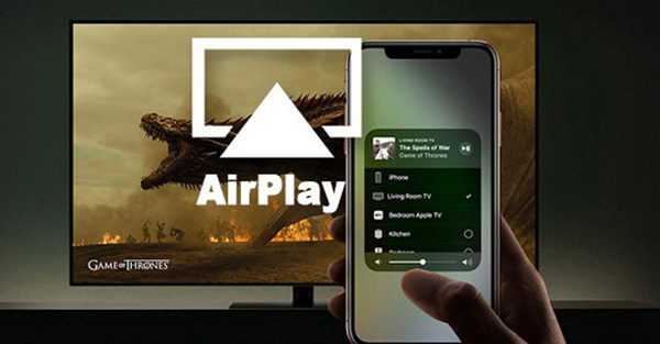 Kết nối điện thoại với tivi qua wifi bằng Airplay