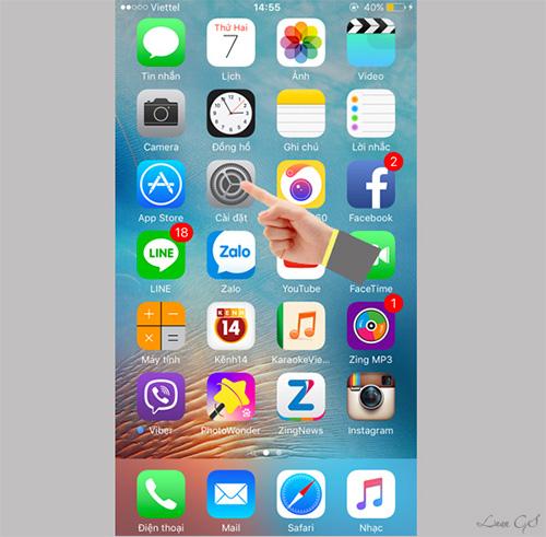 Cách kiểm tra iPhone 6 bao nhiêu GB