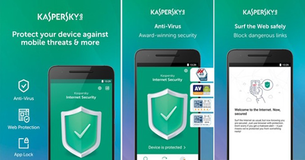 Phần mềm Kaspersky Internet Security cho Android