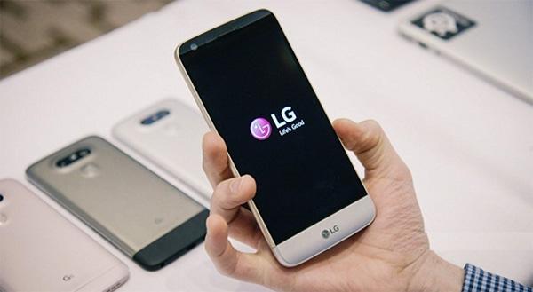 Điện thoại LG bị treo logo