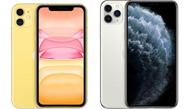 iPhone 11 Pro và 11 Pro Max đều sử dụng màn hình OLED