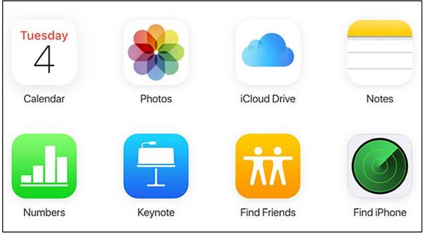 Chọn hình ảnh muốn tải xuống từ iCloud