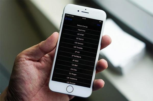 Kiểm tra iPhone Lock thuộc nhà mạng nào?