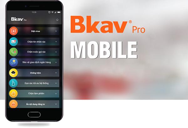 Phần mềm BKAV Mobile Security