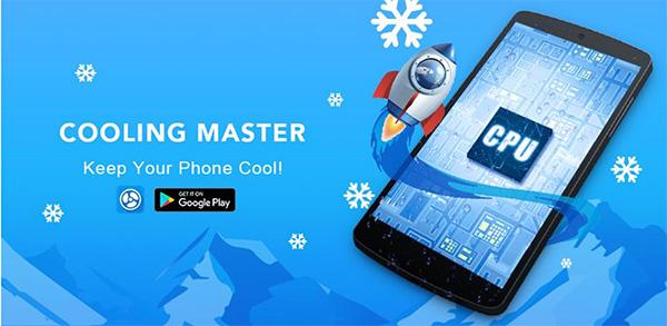 Ứng dụng làm mát iPhone Cooling Master – Phone Cooler