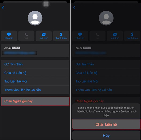 Chặn số điện thoại gửi tin nhắn rác trên điện thoại (1)