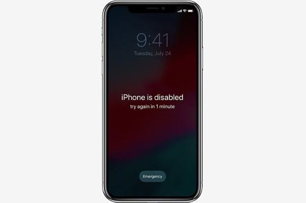 Tại sao iPhone bị vô hiệu hóa?