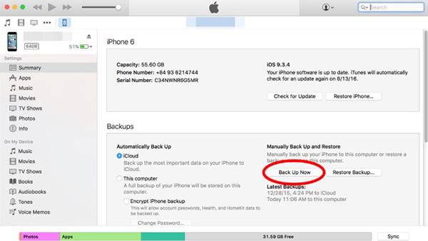 Cách khắc phục tình trạng iPhone bị vô hiệu hóa bằng iTunes (1)