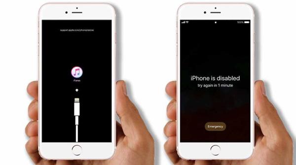 Cách khắc phục tình trạng iPhone bị vô hiệu hóa bằng iTunes
