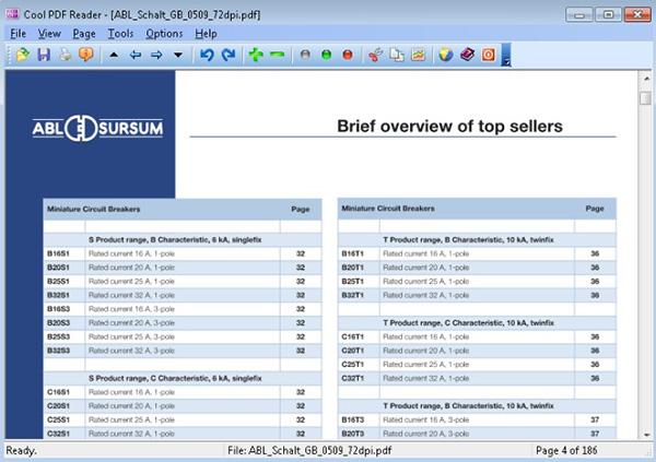Phần mềm đọc file PDF Cool PDF Reader