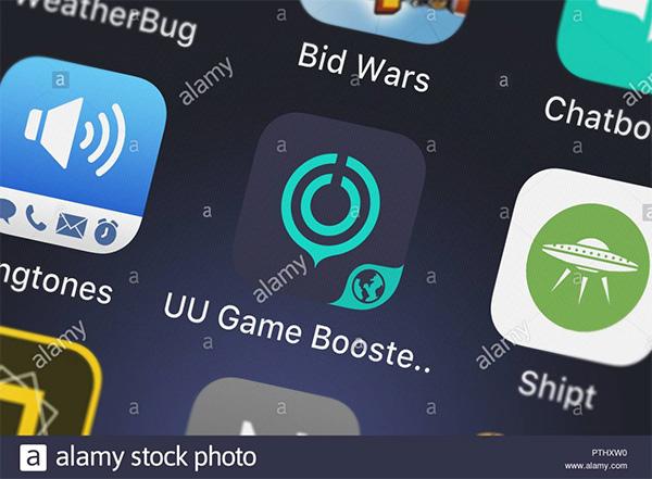 Phần mềm tăng tốc iPhone UU Game Booster thích hợp với cả iOS và Android