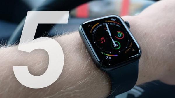 So sánh màn hình Apple Watch Series 4 và 5