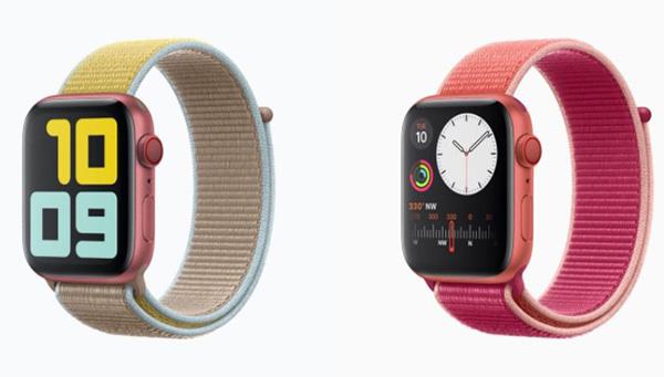 So sánh thiết kế Apple Watch Series 4 và 5