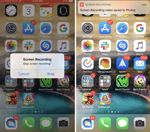 Hướng dẫn cách quay màn hình iPhone không thu tiếng (1)