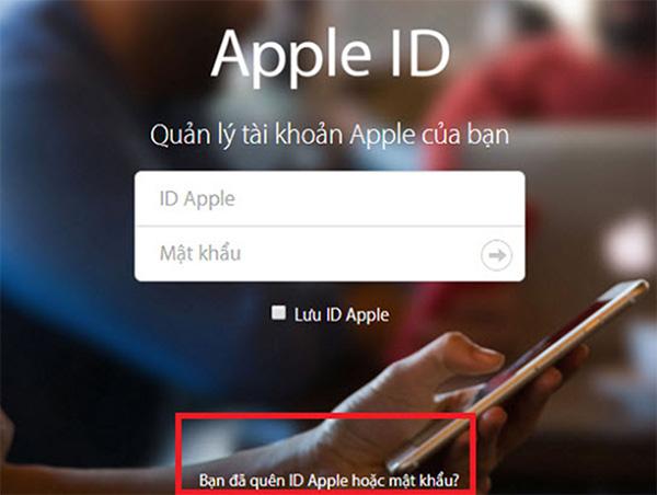 Cách lấy lại mật khẩu iCloud bằng Gmail