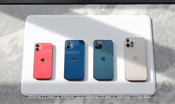 iPhone 12, 12 Mini, 12 Pro và 12 Pro Max (2020)